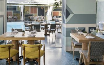 Dining at Viviane Restaurant - Avalon Beverly Hills