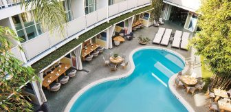 Pool at Avalon Beverly Hills Hotel