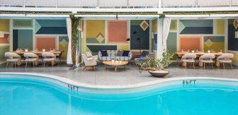 Poolside Cabanas_Avalon Beverly Hills Hotel