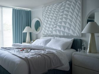 Avalon Beverly Hills One Bed Suite Bed
