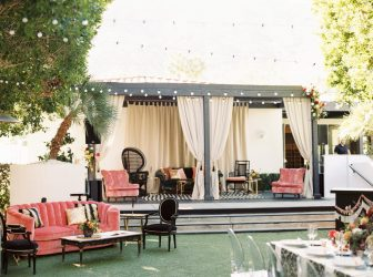 Presidio Courtyard at Bohemian Wedding