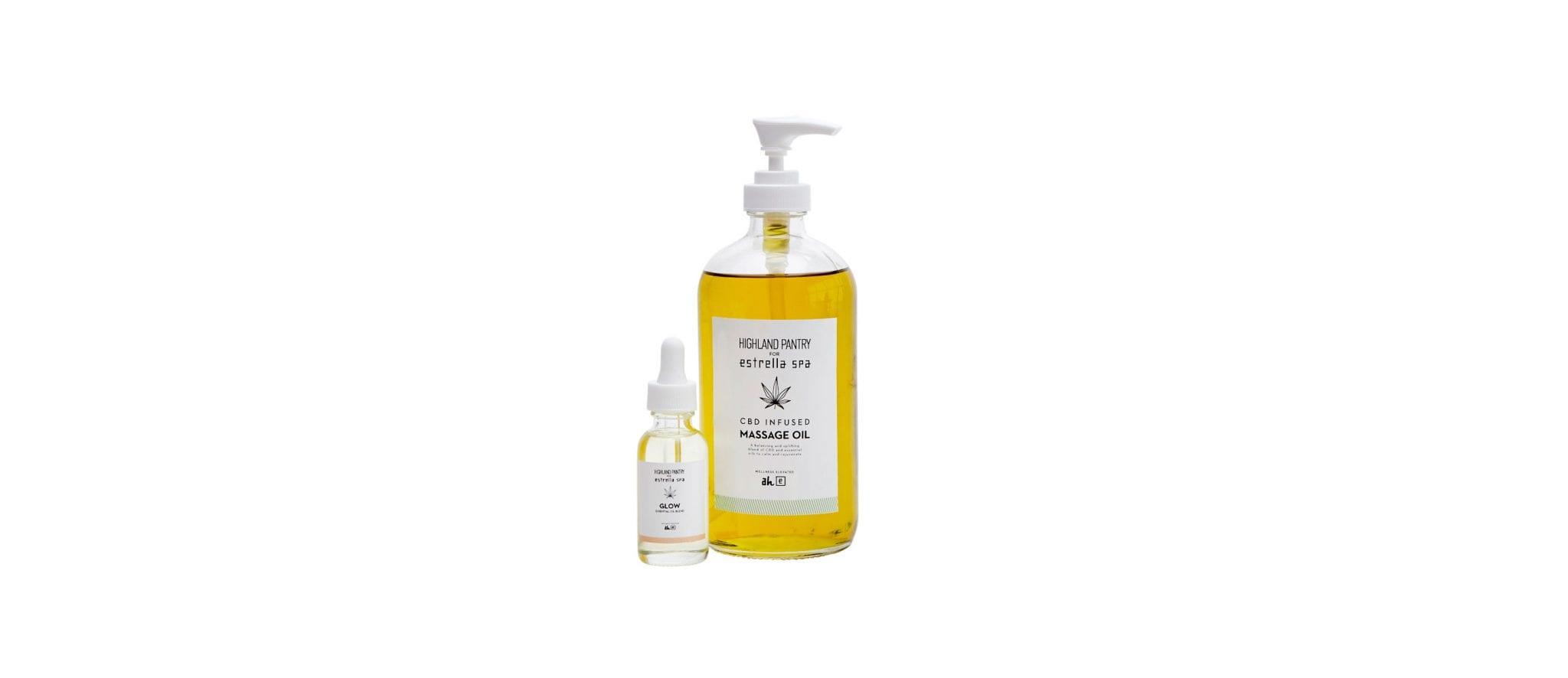 Glow Essential Oil + CBD Infused Massage Oil