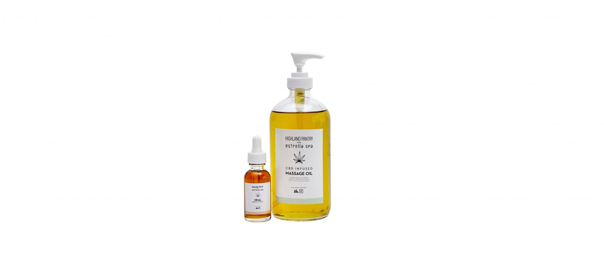 Heal Essential Oil + CBD Infused Massage Oil
