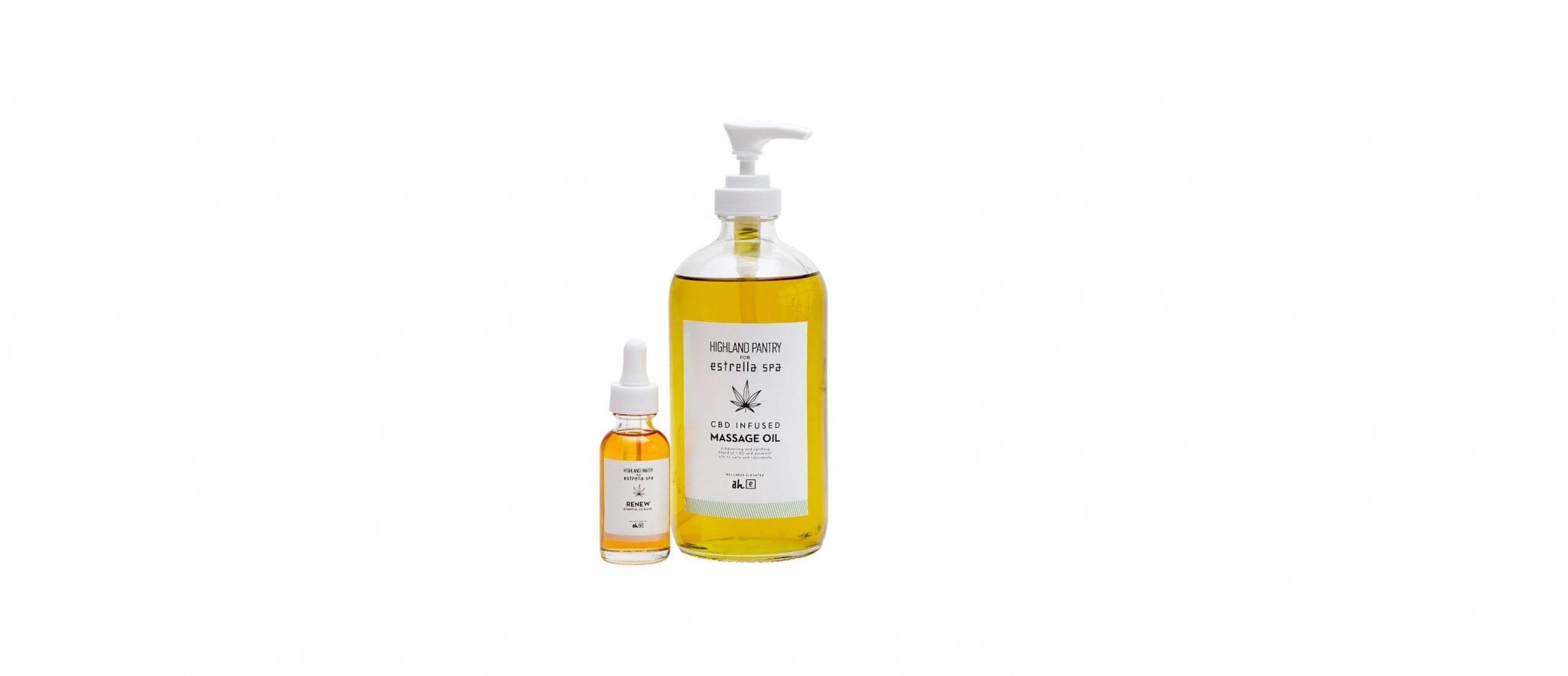 Renew Essential Oil + CBD Infused Massage Oil