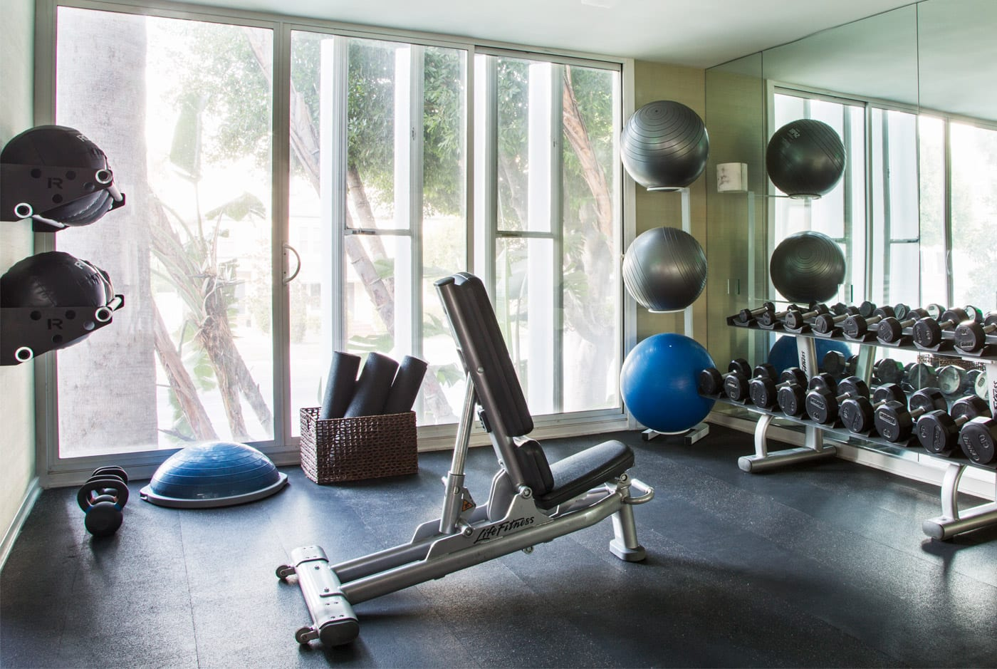 Gym at Avalon Beverly HIlls