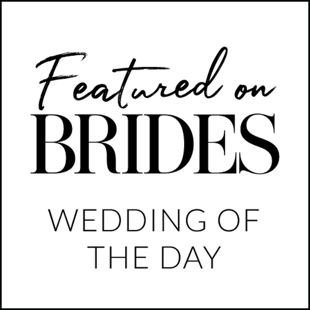BRIDES Badge Wedding Of The Day