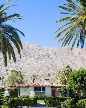 two bedroom bungalow at Avalon Hotel Palm Springs